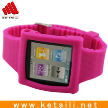 Fashion cheap silicone android smart watch