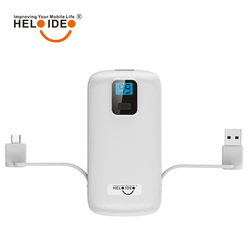 Colorful 4400mAh mobile phone power bank charger