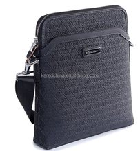 Top quality fashion men genuine leather handbag