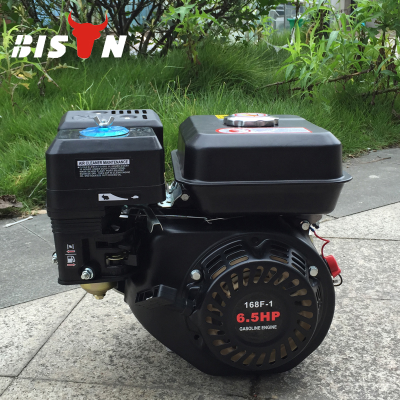 BISON Honda conception 6.5hp Air refroidi 168f-1 moteur à essence GX200
