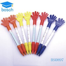 Customized low price Plastic Flyer Pen banner pen
