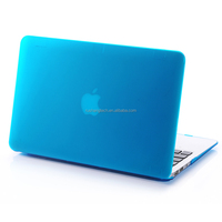 customized rubber matt case for apple macbook pro, matt case for apple laptop mac book