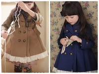 Wholesae Kid Grils Thin Trench Coat Bulk Buy Child Clothes From China