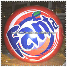 Inflatable cold air advertising balloon