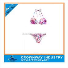 sexy swimwear tankini for mature women, triangle superfly swimwear beachwear for sexy ladies