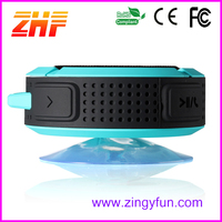 china best wholesale websites Hanging sucker cup naiad waterproof wireless bluetooth speaker