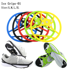 Magia Spiker Snow Shoe hielo Grips antideslizante Spikes grapas Pinzas <span class=keywords><strong>crampones</strong></span> NUEVO