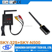 RC32S 5.8ghz 32CH+N500 5.8ghz 32CH 500mw video RC Airplane Helicopter
