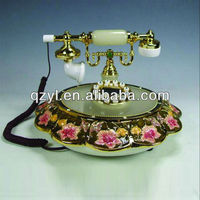 Flowers Bloom telephone indian decorative items