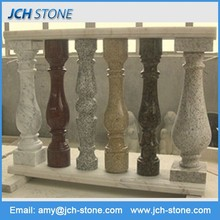 Chinese high quality home decoration granite modern railing stairs