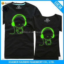 Hot Selling Short Sleeve Couple T Shirts For Summer