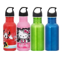 2015 hot products 500ml 18oz stainless steel single wall sport bottles kids bottle stainless steel sports bottle cap