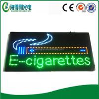 Alibaba wholesale CE UL electronic cigarette shop advertising indoor led e cigarette sign