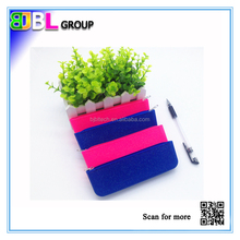 2015 Hot-selling mini silicone pen and pencil case with zipper for kids / students / office use