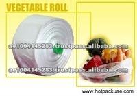 OEM Service Vegetable Packaging Poly Plastic Film Roll