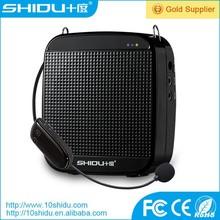 Wreless megaphone with loop play function Ndfeb speaker and stable performance