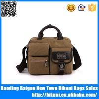 Hot sale fashion handbag vintage canvas messenger men's shoulder bags crossbody travel bag