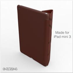 fashionable leather case for iPad mini 3, smart case for iPad mini 3