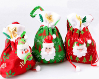 2016 New Wholesale Christmas Decorations Candy Bag
