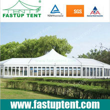 12x35m High Peak Wedding tent for 350 people, wedding tent in Guangzhou China