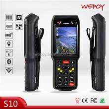High quality OEM waterproof handheld communication devices pda with 2D scanner wifi bluetooth