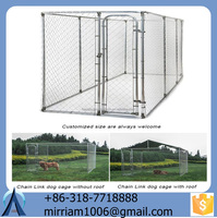 2015 Anti-rust and Practical New Design Low price Comfortable Welded Wire dog kennels/ Chain Link dog kennels