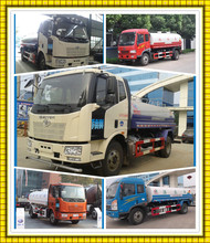 Best prices Water tank Truck 10000l to 15000l Water Sprinkler truck FAW Watering cleaning vehicle for sale