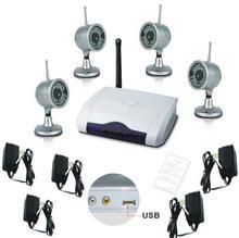 4 canales control remoto de cámara inalámbrica