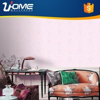 Uhome Nonwoven European Classic style 3d Wallpaper Designs for Bedroom Hot Sale Distributor Wanted ED90205