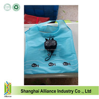 190T animal polyester foldable shopping bag in Cat shape ALD1146