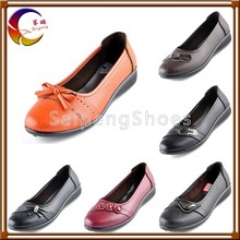 Timely delivery and wholesale with factroy price woman fashion flat shoes