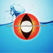 Color negro baratos kontaktlinsen opaco loco lentes de contacto/color baratos contactos/esclerótica negro contactos
