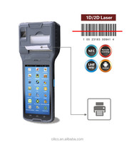 Cilico industrial android smart thermal printer mobile integrated 1D barcode scanner,NFC reader,support wifi,BT,3G,gprs,gsm