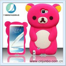 bear mobile phone case for samsung i7100