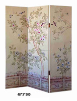 Elegant French Rococo Style Full Size Decorative Folding Screen BF11-03311a