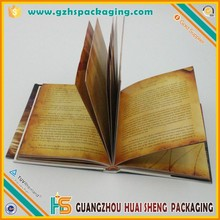 Chnia factory custom design my hot book printing service for you