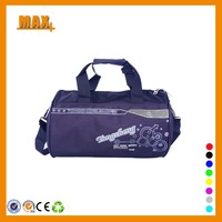 Nylon Waterproof Custom Gym Bag With Shoulder Strap Cheap Sport Wholesale Gym Bag