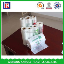 factory price 100% bidegradable plastic custom packaging t shirt printing shopping bag