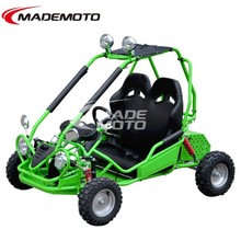 Directly Selling 450W 12V Fast Electric Go Kart with Green Color