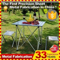 Stainless Steel Folding Wholesale Picnic Table and Bench Chair Sets in bulk