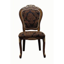Por atacado do Vintage Design Hotel cadeira tecido cadeira do banquete sem braços antigo cadeira da sala de jantar