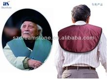Best result! infrared heating shawl for neck care , back pain heat belt , shoulder massager for stress relief