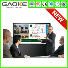 Smart 55 65 70 84 inch interactive LED TV whiteboard Touch monitor screen for multi finger touch
