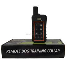 Electric Dog trainer, remote dog shock trainer for 3 dog UP to 1000M range