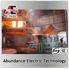 Annual 120000tpy steelmaking plant using electric arc furnace
