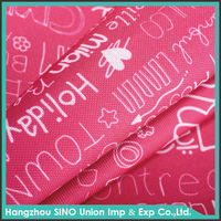 Polyester waterproof fabric 210d oxford cloth textile
