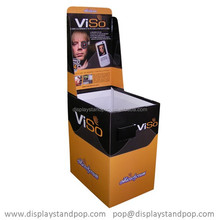 suppliers & exporters ,eco-friendly cardboard pop display stand for Samsung Android mobile phone/telephone