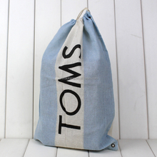 thin cheap material cotton dust bag for shoes