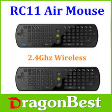 RC11 fly air mouse 2.4GHz wireless Keyboard Mini PC for Google android TV Box the same as RC12 /RC13/T10/T3 wireless keyboard