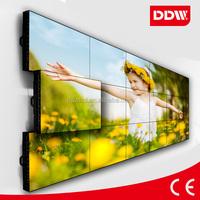 Ulta super narrow 6.3mm bezel 60 inch Sharp LCD video wall for exhibition